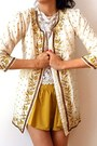 Mustard-wholesale-shorts-cream-vintage-from-ebay-jacket