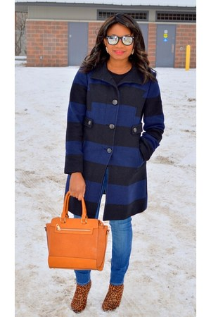 Old Navy coat - Old Navy jeans - TJ Maxx bag