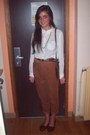 Vintage-bag-topshop-necklace-corduroy-zara-pants
