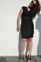 black Nortin heels