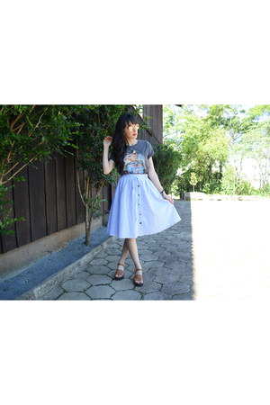 a line Rosegal skirt