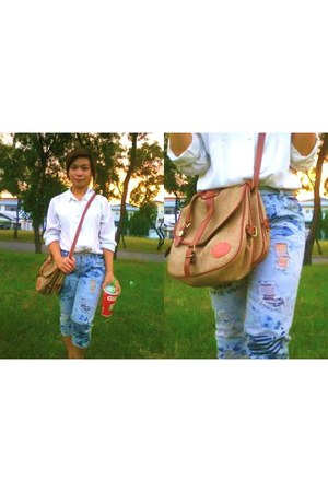 Private bag - MCHJS jeans - Addies Friend blouse
