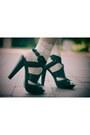 Red-ruffled-cecilia-acua-dress-ivory-lace-ebay-socks-black-gladiator-urban-o