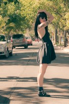 Forever 21 boots - American Apparel dress