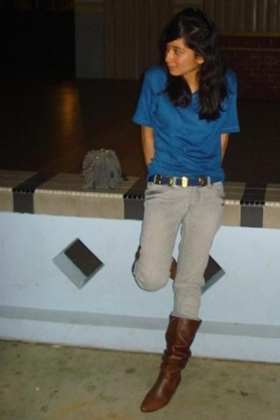 Byford shirt - Lucky Plaza jeans - Bugis Village - City Square - Salvatore Ferra