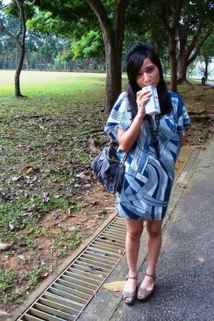 Bugis Village dress - Bugis Village purse - Charles & Keith shoes