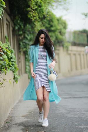 Zara dress - asos coat