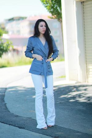 H&M shirt - Mango jeans