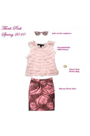 pink Bensoni skirt