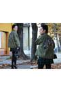 Black-chanel-boots-army-green-essentiel-antwerp-jacket-black-chanel-bag