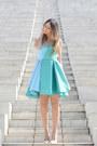 Sky-blue-maria-grazia-severi-dress-ivory-valentino-heels