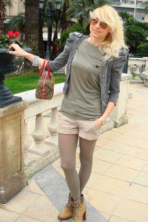 christian dior purse - manas boots - Zara jacket - Zara t-shirt - Calzedonia tig