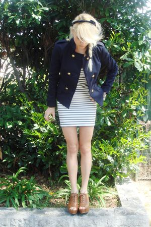 Kookai jacket - Zara shoes - Zara dress