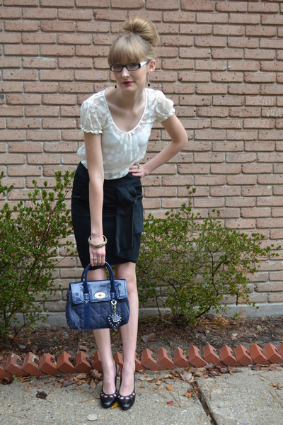 black black skirt Go International Target skirt - blue Mulberry for Target bag