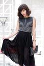 Dark-gray-anyag-shirt-black-forever-21-bag-black-aldo-heels