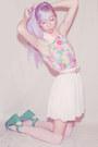 Pink-vintage-dress-aquamarine-platform-romwe-wedges