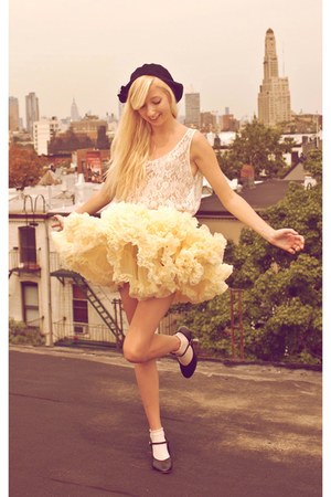 eggshell petticoat American Apparel skirt