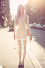 White-sheer-lace-dress-white-pearl-diy-tights