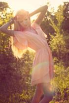 light pink AKIRA Black Label dress