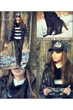 jeans Vogue jeans - jeans Canada hat - leather Bag bag - cotton sOliver belt