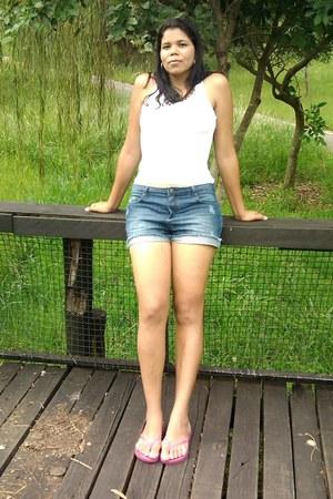 jeans basic shorts