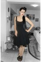 second hand dress - petticoat DIY accessories - Zara sandals