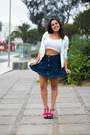 White-oasapcom-jacket-navy-zaful-skirt-white-stradivarius-top