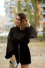 Black-zaful-sweater-black-zaful-skirt