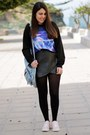 Deep-purple-oasapcom-sweater-light-blue-primark-bag-black-oasapcom-skirt