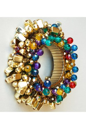 purple Vintage Cha Cha Cha expansion bracelet