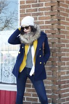 navy Forever 21 jacket - navy Cheap Monday jeans