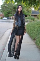 UNIF jacket - platforms UNIF heels