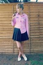 bubble gum Topshop shirt
