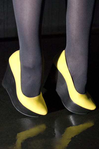 yellow Nelly wedges