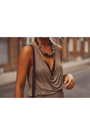 necklace - necklace - top - bra