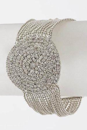 white Emma Stine bracelet