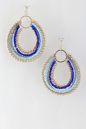 light blue Emma Stine earrings