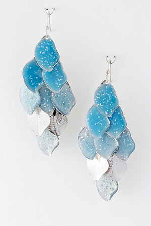 turquoise blue Emma Stine earrings