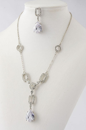 light blue Emma Stine necklace