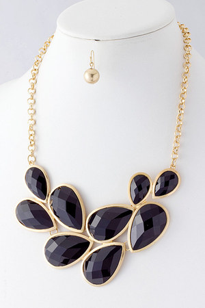 black Emma Stine necklace