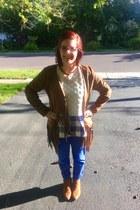 bronze Cat  Jack  Target boots - light brown B&B Department Store jacket