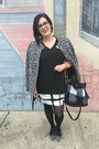 Black-adam-lippes-for-target-dress-heather-gray-betsey-johnson-jacket