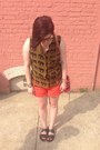 Hot-pink-rebecca-minkoff-bag-carrot-orange-anthropologie-shorts