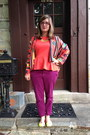 Hot-pink-steve-madden-glasses-baublebar-necklace-orange-hopes-cardigan