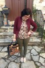 Crimson-urban-outfitters-blazer-brown-reed-x-kohls-bag