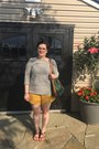 Mustard-h-m-shorts-olive-green-who-what-wear-target-top