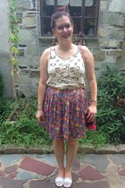 bubble gum thrifted vintage skirt - hot pink Rebecca Minkoff bag