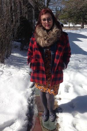 light brown Target scarf - orange 31 Phillip Lim for Target dress