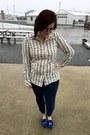 Deep-purple-firmoo-glasses-silver-kate-spade-necklace-white-gap-blouse