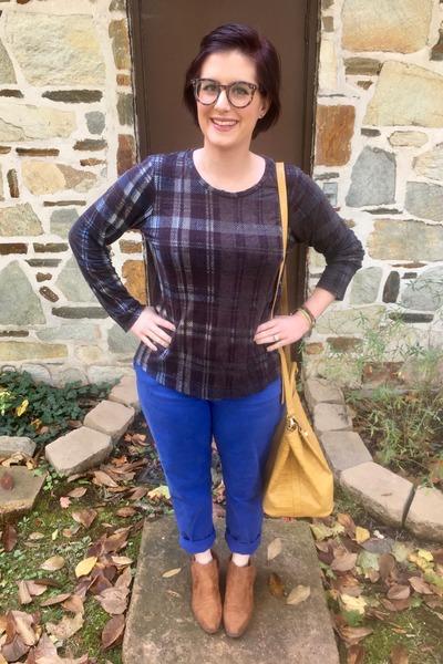 blue Gap pants - light brown Cat & Jack  Target boots